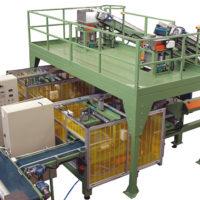 Pressa-confezionatrice orizzontale automatica per balle da 20-25 kg Compost per funghi